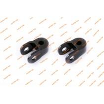 Проставки амортизатора (пара) 30 мм черные