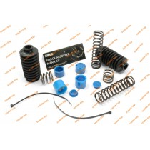 Ремкомплект передней вилки Honda DIO (пружины+втулки+гофры+хомуты)