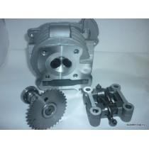Головка цилиндра 139QMB 70 cc с клапанами и распредвалом