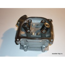 Головка цилиндра 152QMI 125cc с клапанами
