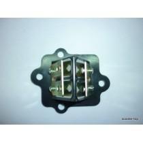 Клапан лепестковый Suzuki Lets,AD50
