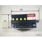Аккумулятор кислотный заливной 12В 7А/ч  12N7 высокий