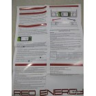 Аккумулятор Red Energy Gel 7А/ч (YTX7A-BS) с ЖК дисплеем, вольтметром.