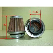Фильтр нулевого сопротивления (конус) d=42