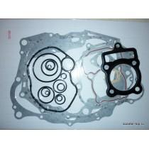 Прокладки двигателя 4Т 162FMJ (CG150 двигатель без балансира) без маслосъемных колпачков