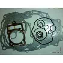 Прокладки двигателя 4Т 167FMM (CG-250-В), 167FML-3 (CG200-B двигатель с балансиром) без маслосъемных колпачков