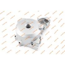 Крышка генератора левая мотоциклы под статор с 3-мя отверстиями (серая) тип2
