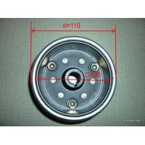 Ротор генератора мотоциклы с муфтой обгонной (внутренний съемник)